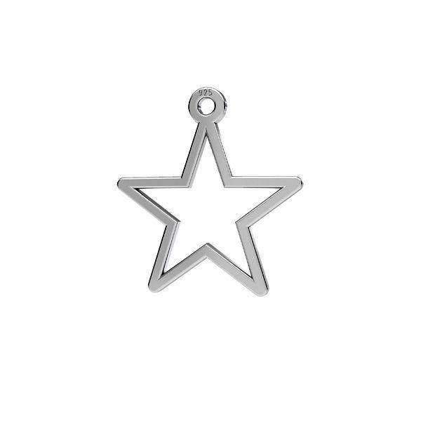 Stella pendente*argento 925*LKM-2632 - 0,50