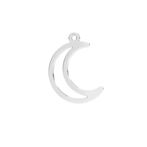 Luna pendente*argento 925*LKM-2633 - 0,50 14x17,2 mm