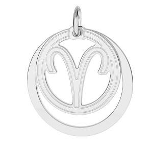 Ariete pendente zodiaco*argento 925*LKM-2584 - 0,50 18x22 mm