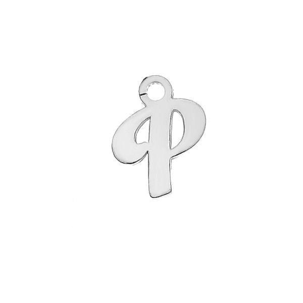 Lettera T ciondolo*argento 925*LK-0076 - 0,50 5,1x9,5 mm