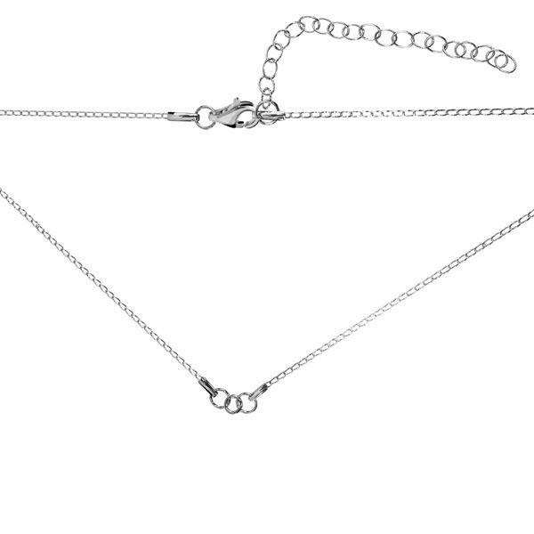 Base per le collane*argento 925*CHAIN 9 (PD 40 20+20 cm) 41 cm
