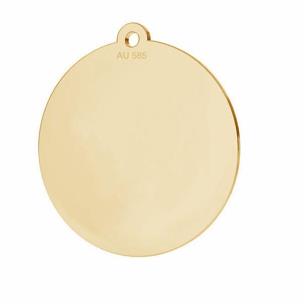 Il giro pendente*oro 585*LKZ14K-50088 - 0,30 18x19,5 mm