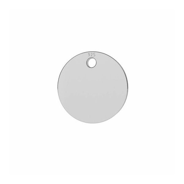 Il giro pendente argento 925, LKM-2799 - 0,33 8x8 mm