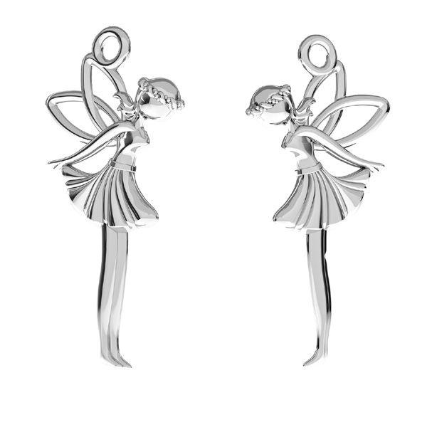 Fata pendente*argento 925*ODL-00765 13x26,5 mm