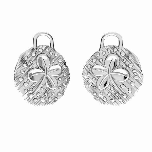 Trifoglio pendente*argento 925*ODL-00784 13,5x15,5 mm