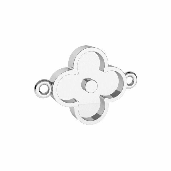Pendente corona per resina, argento 925, ODL-00680 CON 1