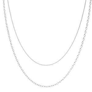 Collana forzatina, argento 925, CHAIN 46 (A 030 / A 050)