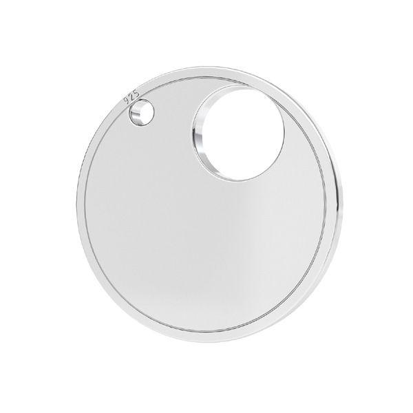 Il giro pendente argento 925, LKM-2004 - 04