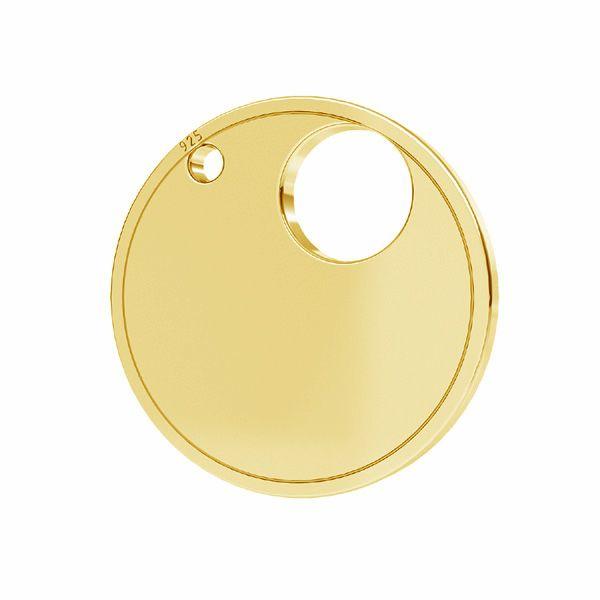 Il giro pendente argento 925,LKM-2738 - 0,50 18x18