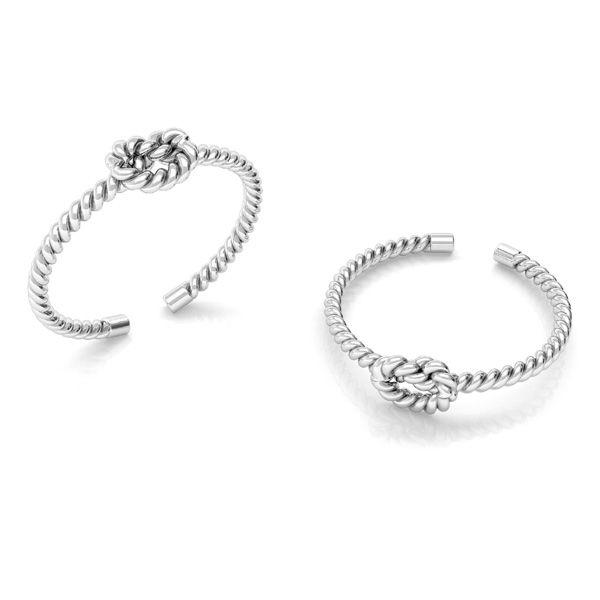 Corda anello argento 925, ODL-00624