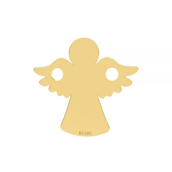 Angelo ciondolo*oro 585*LKZ14K-50095 - 0,30 13x13 mm
