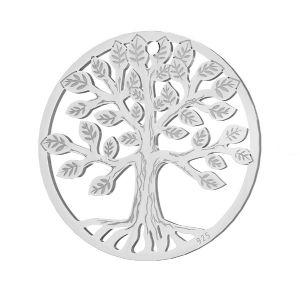Alberox pendente argento, LKM-2939 - 0,50 19x19 mm