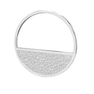 Il giro pendente argento 925, LKM-2745 - 0,50 18x18 mm