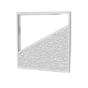 Piazza pendente argento 925, LKM-2748 - 0,50 17x17 mm