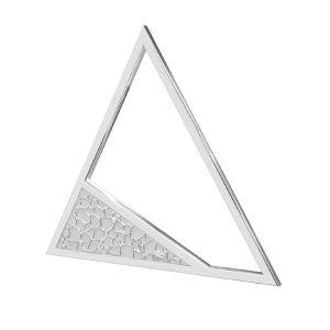 Triangolo pendente argento 925, LKM-2746 - 0,50 17,4x20 mm