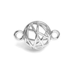 Emisfero pendente argento 925, CON 1 E-PENDANT 645 8,4x13,3 mm