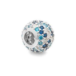 Cacciatore di sogni beads*argento 925*BDS-00006 8,2x11 mm