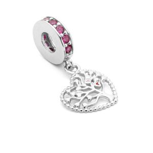 Cacciatore di sogni beads*argento 925*BDS-00007 12x24 mm