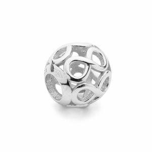 Cacciatore di sogni beads*argento 925*BDS-00010 9,5x10,5 mm