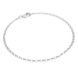 Braccialetto Rolo*argento 925*ROLO OVAL 0,35X0,60 40 cm
