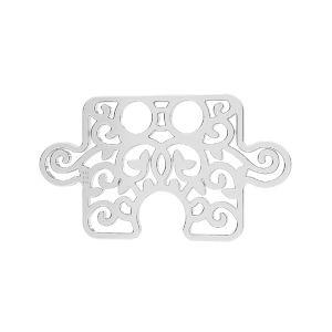 Puzzle pendente*argento 925*LKM-2639 - 0,50 11x19 mm