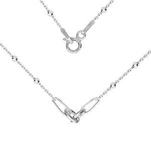 Collana base, argento 925, S-CHAIN 2 (A 030) - 41 cm