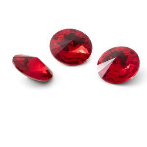 Tondo cristallo 12mm, RIVOLI 12 MM GAVBARI LIGHT RED