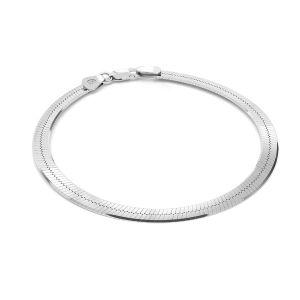 Braccialetto catena Snake*argento 925*MAG 050 19 cm