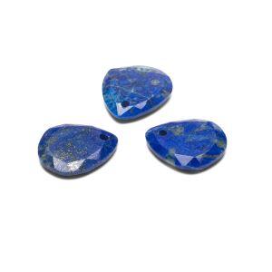 Lacrima pendente, Lapis lazuli 16 mm, Gavbari pietra semipreziosa