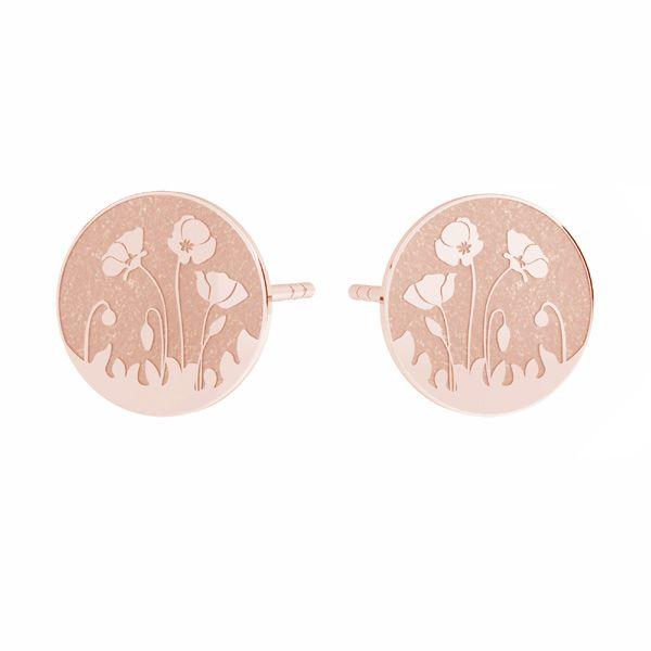 Il giro orecchini, argento 925, KLS LKM-3017 - 0,50 10x10 mm