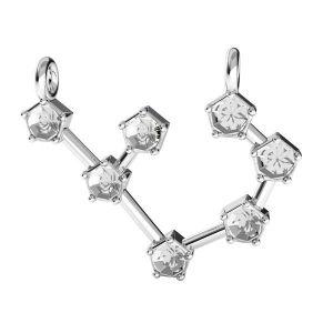 Sagittario pendente zodiaco*argento 925*ODL-00657 17,5x19 mm