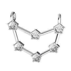 Capricorno pendente zodiaco*argento 925*ODL-00658 18x19,3 mm
